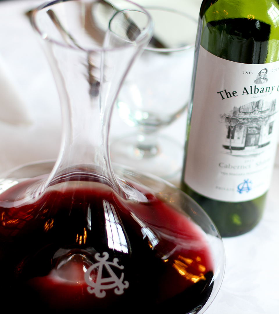 Albany Club Decanter