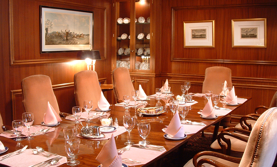 Private Dining/Meeting Rooms - Albany Club of Toronto