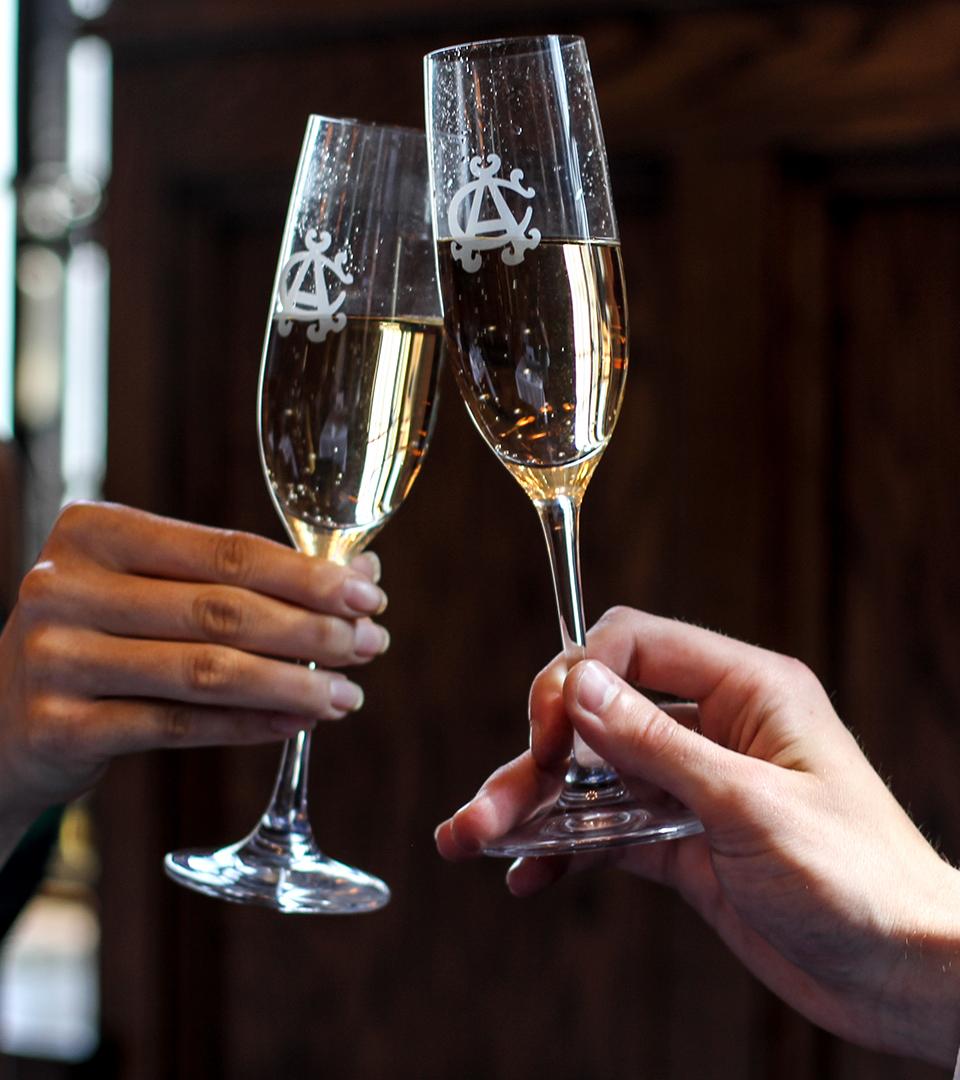 Albany Champagne Glasses