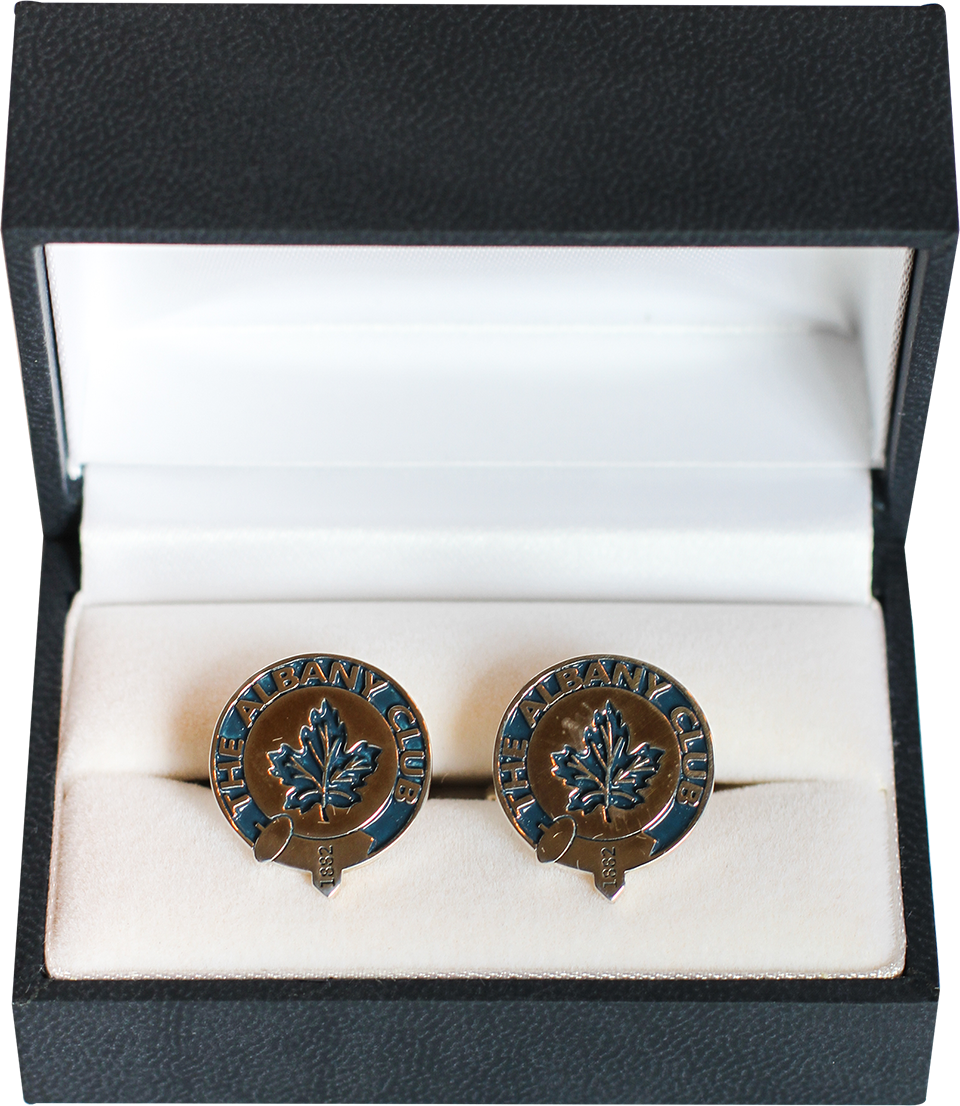 Albany Club Maple Leaf Cufflinks